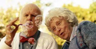 Пенсионеры весёлые
