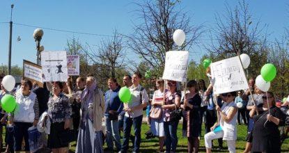 Митинг против Нового Света ЭКО