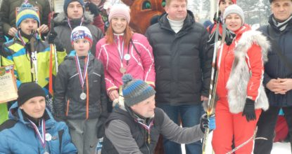 лыжные гонки Вырица