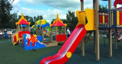 Детская площадка в Войсковицах