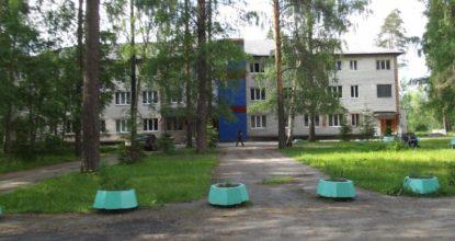 Вырицкая больница летом