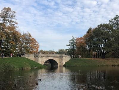 Осенний гатчинский парк