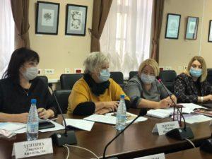 заседание женщин России