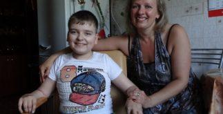 Вадим Антоненко с мамой