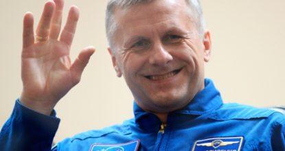Космонавт Андрей Борисенко