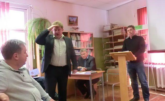 Вырицкие депутаты в библиотеке