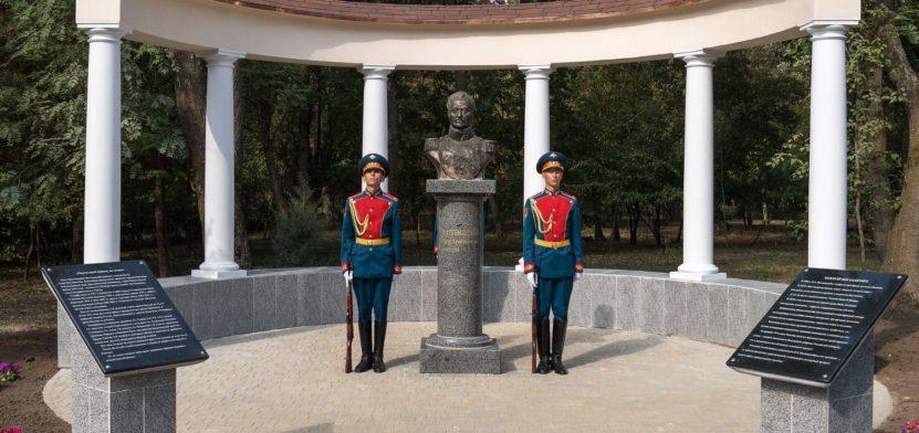 Памятник П.Х. Витгенштейну в Каменке
